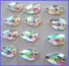Il cristallo cuce sui branelli per gli accessori dell'indumento