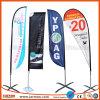 Дешевые Custom печать полиэстер перо-слезники под флагом на пляже баннер