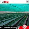 Red de sombra de sol verde para uso agrícola de invernadero