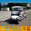 Zhongyi 8 пассажиров с батареи дороги - приведенной в действие тележки гольфа классицистического челнока электрической Sightseeing с высоким качеством
