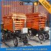 Plates-formes hydrauliques mobiles de levage de ciseaux