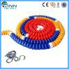 Acier ou corde colorée en nylon de ruelle de piscine