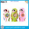 Bambole russe di ceramica di piccola bellezza