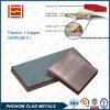 Kupferne explosives Schweißens-plattierte Titanplatte