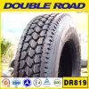 Le camion de remorque de boeuf d'entraînement de Smartway fatigue (1124.5 DR819) le poids 315/80r22.5-18 de pneu de camion lourd