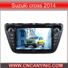 Reprodutor de DVD especial de Car para Suzuki Cross 2014 com GPS, Bluetooth. com o Internet de Dual Core 1080P V-20 Disc WiFi 3G do chipset A8 (CY-C337)