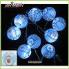 3 linterna de papel de luz de la secuencia de iluminación de Navidad Decoración Garland Light