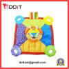 아기 연약한 Teether를 가진 다채로운 사자 포옹 담요 장난감
