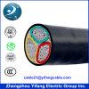 Câble de cuivre souterrain blindé XLPE de 5 noyaux