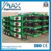 Skelettartiger Behälter-LKW-halb Schlussteil mit Behälter-Verschlüssen