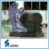 &Heart Shape Headstone di Style di angelo per il cimitero (T498)