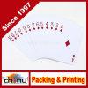 Firmenzeichen gedruckte Plastikspielkarten