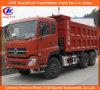 10 autocarro con cassone ribaltabile delle rotelle 20cbm Dongfeng Dalishen/autocarro a cassone
