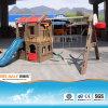 Los chicos de plástico al aire libre Diapositiva Columpios PT-SW008