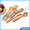 6 Bamboo Kitchen Tools의 세트
