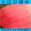 Pino rojo enfrenta la construcción de madera contrachapada de 18mm
