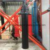 3 estágio 3 pistões do cilindro hidráulico telescópico para descarga de caminhões