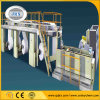 Papier thermosensible fendant et machine de rebobinage