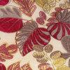 Chenille jacquard de tissus teints en fil de polyester canapé