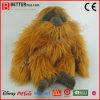 현실적 박제 동물 Orangutang 연약한 Orangutan 견면 벨벳 장난감