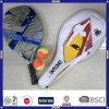 Praia raquetes de ténis padel com cosméticos personalizados
