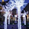Temporada de Férias LED Artificial Decoração de luzes de madeira de Árvores