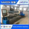 Nueva cortadora del plasma de Oxygas de la placa de acero del CNC del pórtico