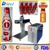La mini cola de Caco puede laser de la fibra de la máquina de la marca/de grabado