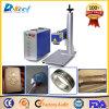 tampa/metal/tubulação do telefone da marcação do marcador do laser da fibra de 10W 20W 30W