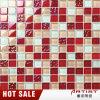 Preiswertes Whosale Glasmuster-rote Farben-Mosaik für Wand