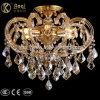 Золотой зажим Crystal подвесной светильник