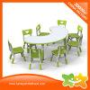 Таблица и стулы детсада новой переклейки конструкции материальные установили воспитательную мебель малышей