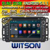 Carro DVD do Android 5.1 de Witson para Gmc: 2007-2010 (W2-F9972G)