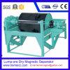 Separatore magnetico asciutto del Grumo-Minerale metallifero per il getto, la ceramica ed il carbone