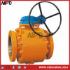 Flanged en acier forgé Tourillon Ball Valve