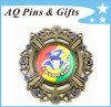 Jewellery in lega di zinco Medal con Printing