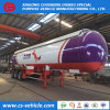 아프리카 시장을%s 가스 탱크 LPG 트레일러 30tons를 요리하는 세 배 차축 60m3