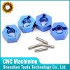 CNC no estándar de la precisión que trabaja a máquina piezas de aluminio anodizadas coloridas