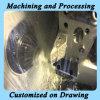 Peça feita sob encomenda do protótipo do OEM com a precisão do CNC que faz à máquina para o metal que processa a peça de maquinaria na ordem pequena