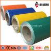 Ideabond PVDF / PE bobine d'aluminium revêtue de couleur