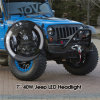 Hotsale 7inch LED Light Bar met Halo High Low Beam LED Headlight voor Jeep
