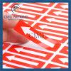 Document met Sticker van het Document van de Kleurendruk de Zelfklevende (cmg-streptokok-004)