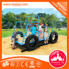 Campo de jogos ajustado do projeto do caminhão das crianças do jogo do jardim de infância