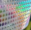 Sellos olográficos al por mayor del control de calidad de la impresión del laser