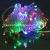Transparentes Zeichenkette-Licht des Draht-LED für Weihnachtsdekoration
