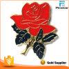 고품질 최고 가격 로즈 접어젖힌 옷깃 Pin 모자 TAC 새로운 꽃 접어젖힌 옷깃 Pin