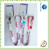Identificazione Card Holder Lanyard di Transfer Printed di calore per Staff (JP-L012)