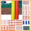 Maglia di plastica della rete fissa Jw033/barriera di sicurezza arancione