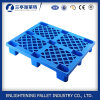 HDPE do baixo preço de 1200X800X140mm 9 pés de pálete do plástico