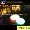 Nachladbarer im Freien wasserdichter LED-Kiesel-Stein